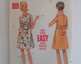 Butterick 4905 Misses Size 12 A-Line Sleeveless Dress