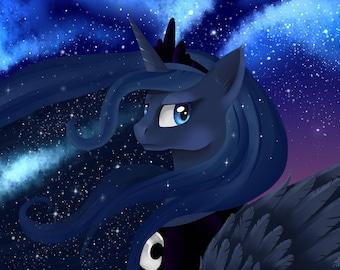 Princess Luna - A3 print