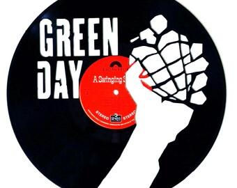 Greenday - Vinyl Record Art