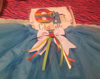 Birthday tutu sets numbers 1,2,3,4,5,6,7,8 can be done