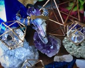 Galactic Intuition Enlightened Longhorn Necklace 4/9