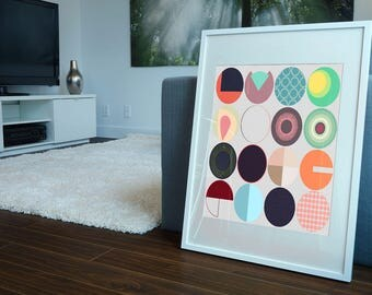 Series of Circles Print