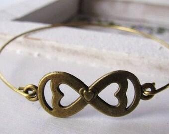 Remembered Forever Infinity Bracelet, miscarriage bracelet, infant loss, baby loss gift, child loss gift, miscarriage gift, stillbirth