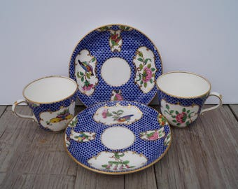 Tea Cup and Saucer (Set of 2) - Coalport China