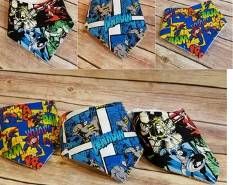 Baby Drool Bib Superhero Pack