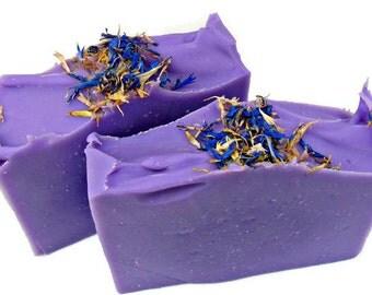 Lavender Soap, Shea Butter Soap, Handmade Soap Bar, Lavender Essential Oil Soap, Vegan Bar Soap, Handmade Cold Process Soap