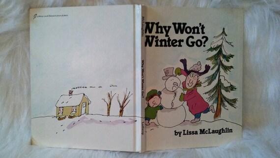 Vintage libro  por qué no ir invierno por por CannadyCreations