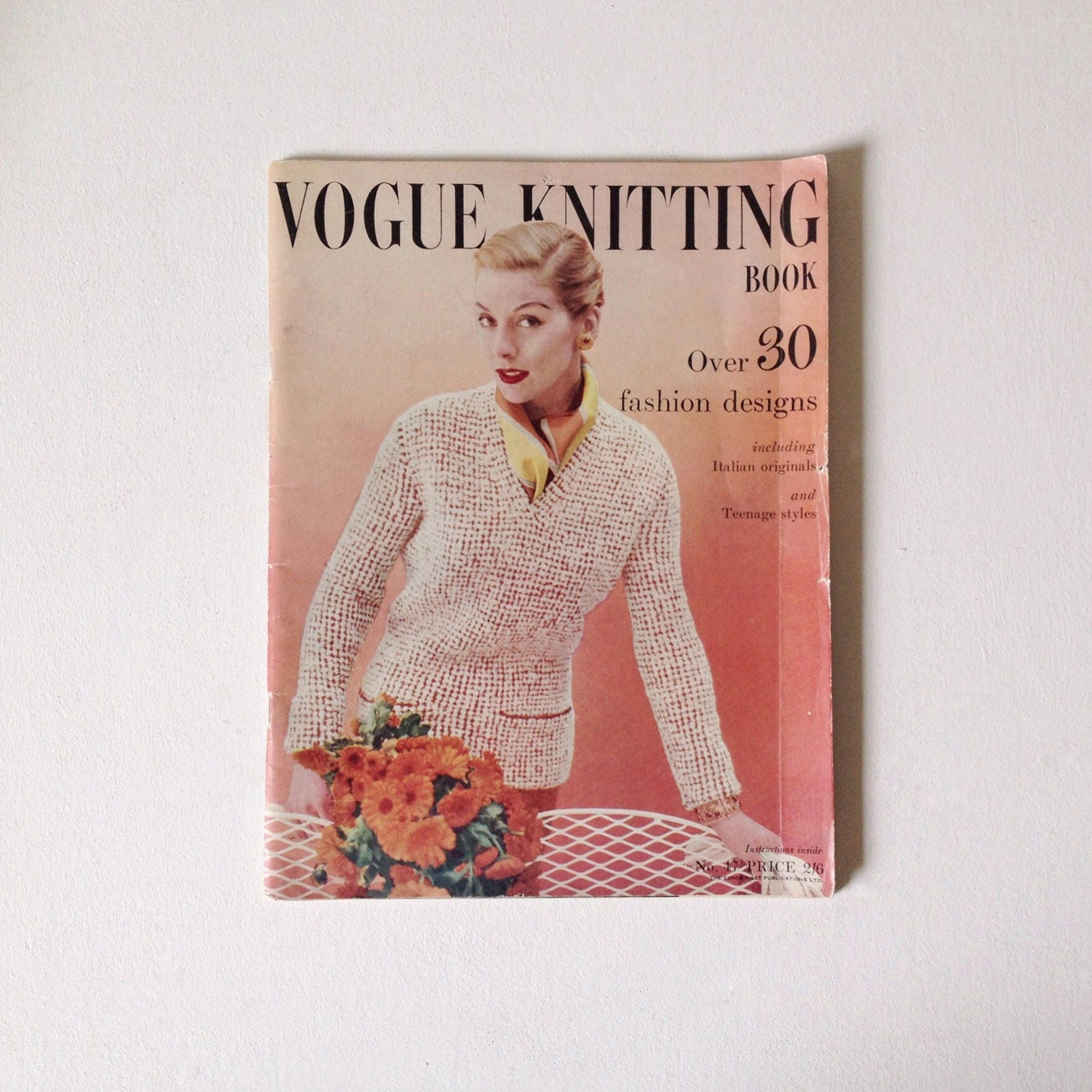 Vogue knitting autumn 1955 retro knitting pattern magazine vogue knitting autumn 1955 retro knitting pattern magazine vintage vogue knitting 47 1950s vogue bankloansurffo Choice Image