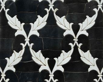 brumeux hills murale papier peint noir et blanc arbres. Black Bedroom Furniture Sets. Home Design Ideas