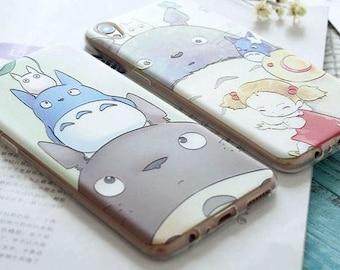 3D Totoro iPhone 7/7+ case