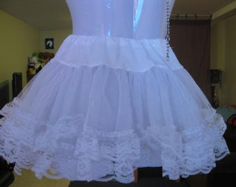 White Tutu Womans Small