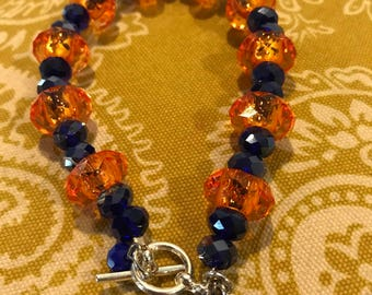 Cross bead bracelet  Proceeds benefit French Camp Academy
