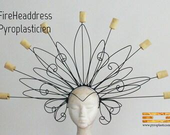 Fire Headdress custom #FireHeaddress