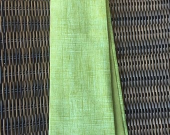 Reversible, green Clergy stole, wonderful abstract design!  Pastor stole, Minister stole for Ordinary time.  A perfect gift!
