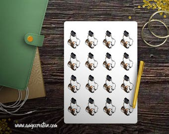 "Guinea Pigs ""Bambi and Piglet"" - Pet Breeds - Planner Stickers - Planner Decorations - Kikki-K, Erin Condren, Mambi Happy Planner, Filofax"