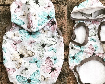 Summer Hoodie spring butterfly for DogS