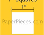 "150 pcs. - 1"" Squares paper templates for Lucy Boston Patchwork of the Crosses - English Paper Piecing"