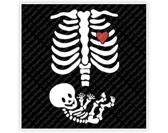 Pregnancy Svg Mommy Svg Baby Svg Pregnant Svg Mommy To Be: Skeleton, Ribs, Halloween, Heart, Baby, Pregnancy, Mom