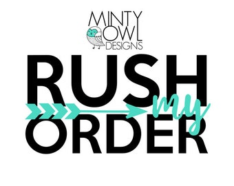 RUSH ORDER - Digital Designs