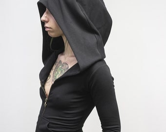 Zip-Up Doomlord Hooded Sweatshirt, Women's