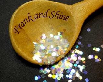 Rainbow Iridescent Solvent Resistant Glitter .0625 Cosmetic Grade Nail Glitter