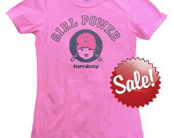 Pink T Shirt Girl Power Shirt Inspirational Breast Cancer Shirt Cancer Survivor Gift Breast Cancer Gifts