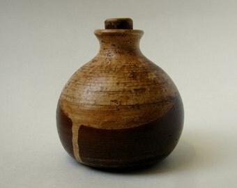 Ceramic bottle, ceramic handmade
