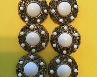 Vintage Buttons- Plastic 1950's