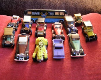 Vintage Toy Cars; Hot Wheels; Summer Wheels; TootsieToy, Travis Tritt Tour Bus - Set of 12!