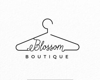 Premade Logo diseño | Logo de suspensión | Diseño de logotipo | Logo de Boutique | Logotipo de tienda de ropa | Logo de los niños | Logo de la web | Kit marca