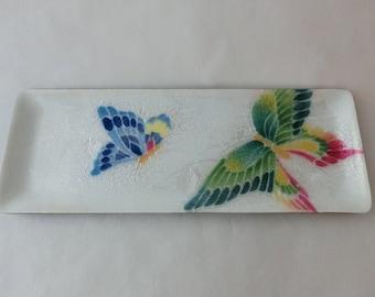 Japanese cloisonne plate