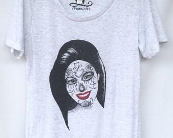 Selena T-shirt. Selena Quintanilla T-shirt. Selena Catrina T-shirt. Gift Friendly .