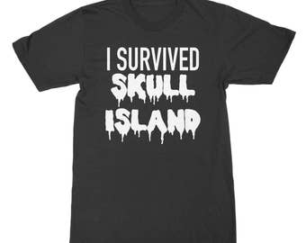 I Survived Skull Island King Kong inspired shirt