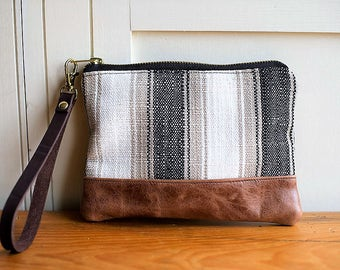 leather clutch, leather wristlet, leather bag, leather purse, evening clutch, clutch bag, boho bag