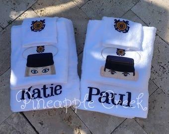 Military towel Set