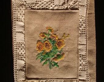 Fabric book case, book cover