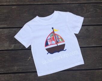 Sailboat Applique Shirt