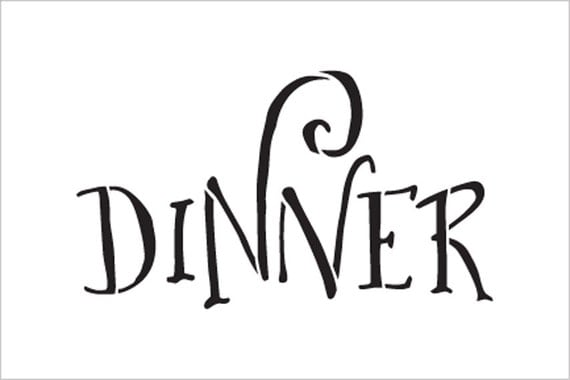 Wedding Sign Word Dinner Fancy Funky Select Size