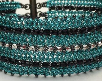 Tutorial: Pinstripe Bracelet