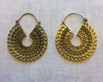 Ear rings, Ear Ring ,Mandala, sacred geometry, meditation