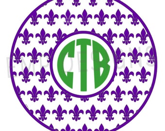 Mardi Gras Decal, Fleur De Lis Decal, decals, stickers, fleur de lis, yeti decal, car decal, fleur de lis decal, yeti decal,