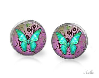 Earrings Butterfly 17