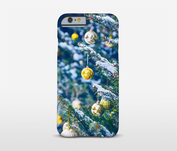 Christmas Gift Phone Case, Christmas Tree Print, iPhone 7 Cases, iPhone 6S, iPhone 6 Plus, Galaxy Phones, Nokia Phone Case and more