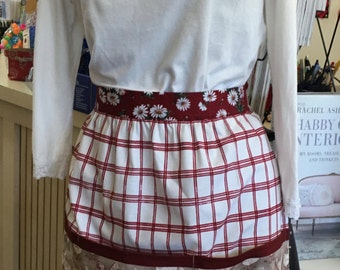 Farm to Table by Danielle Murray For The Blank Quilting Pattern 8347P Apron Panel Vintage Like Apron