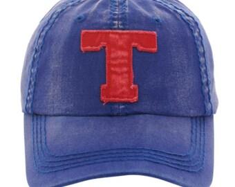 T baseball cap