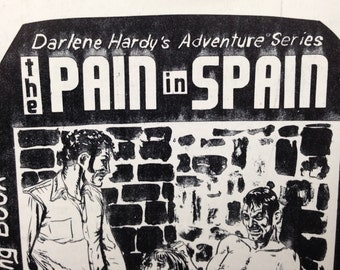 mature - the Pain in Spain by Mutrix Corp - Eric Stanton illustrated