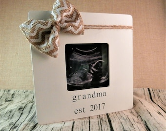 Grandma picture frame for grandma baby announcement frame