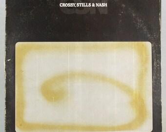 Crosby, Stills & Nash - CSN LP 1977 Album Atlantic Records Original Vintage Vinyl LP