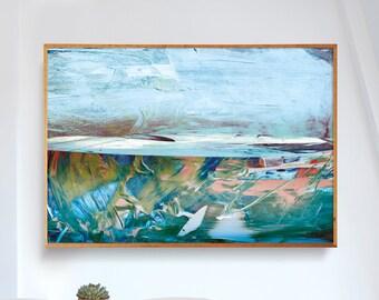Printable Abstract Art, Large Landscape Art, instant download art, Large Abstract Art, Dan Hobday, Landscape, A1 Print art, living room art