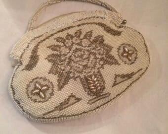 1930S Beaded Evening Clutch Bag